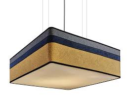 fabric pendant lamp plaza square pendant lamp by sicis
