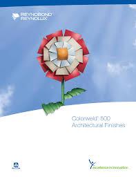 Alcoa Coil Stock Color Chart Colorweld 500 Architectural Finishes
