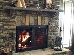 wood burning fireplace door craftsman style fireplace door heatilator wood burning fireplace glass doors