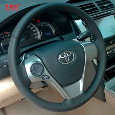 Yuji Hong Genuine Cow Leather Car Steering Wheel Covers Case for ...