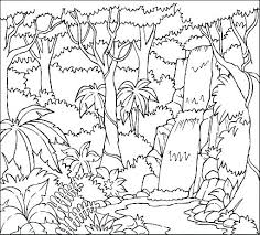Coloring Pages Forest Animals Forest Coloring Pages To Print Rain Printable Free Co Coloradobo Win