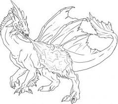 Realistic Dragon Coloring Pages Collection Free Coloring Book