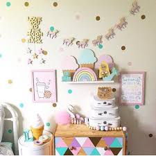 awesome unicorn wall decor home wallpaper 19 99 target stickers head decals bedroom girls gold pillowfort