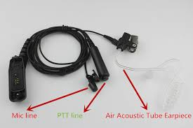 online buy whole motorola xpr 6550 from motorola xpr air acoustic tube earpiece ptt mic headset for motorola xir p8668 p8268 apx 7000 xpr 6500