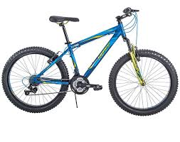 24 fortress men s aluminum frame 21 sd mountain bike with oversized tires