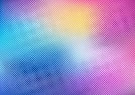 Colorful Blurred Background With Halftone Effect Overlay