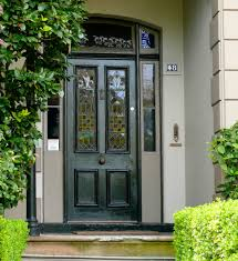 black single front doors. Black Single Front Doors