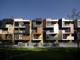 nice modern apartment building design model tetris - Stylendesigns.com!