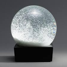 Snow Globe Design Minimalist Snowball Snow Globe