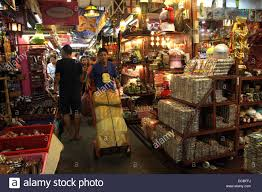 shops in home and decoration shop area in chatuchak weekend market