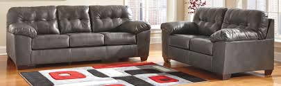 Living Room Sets At Ashley Furniture Buy Ashley Furniture 2010238 2010235 Set Alliston Durablend Gray