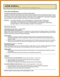 7 Public Relations Resume Examples The Stuffedolive Restaurant