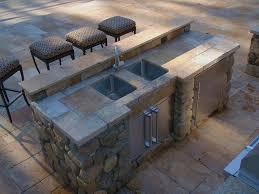 outdoor kitchen sink gorgeous sink for outdoor kitchen 7 outdoor kitchen counter