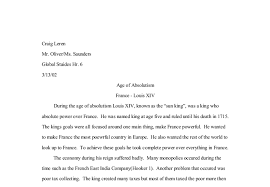 age of absolutism louis xiv a level history marked  document image preview