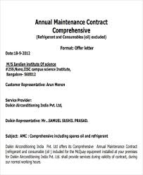 contract letter contract offer letter templates 9 free word pdf format