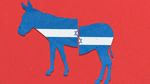 Image result for democratic party vs israel