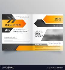 Brochure Template Design Free Annual Report Booklet Brochure Template Design