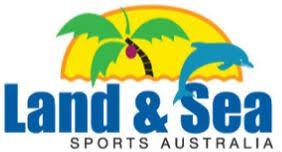 land and sea logo. quantity land and sea logo
