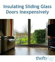 sliding door insulation repair sliding glass door insulation