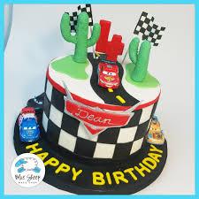Lightning Mcqueen Birthday Cake Blue Sheep Bake Shop