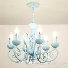 modern white chandelier multiple chandelier modern white pink blue candle iron ceiling light led lamp lighting modern white chandelier