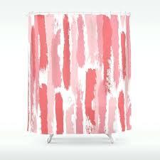 brushstrokes stripes pattern pink rose c peach shower curtain canada c mint shower curtain uk