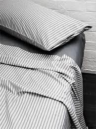 ticking stripe sheet set 113 no place like home ticking stripe sheets