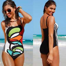 Superior Womens Swimwear Bikini Swimming Costume One Piece Push Up Padded Beachwear S