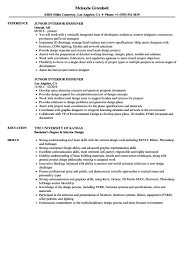 Interior Design Resume Sample 1 Designer | Chelshartman.me