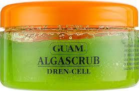 <b>Скраб</b> для тела с дренажным эффектом - <b>Guam Algascrub</b> Dren ...