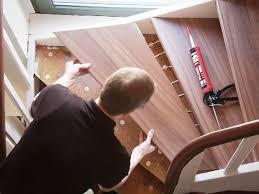 Hallo, hilfe, meine holztreppe knarrt ganz fürchterlich seit ca. Alte Stufen Renovieren Laminat Auf Treppen Verlegen Bauen De