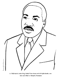 Small Picture Martin Luther King coloring pages for kid 123