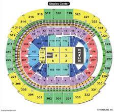 staple center seating chart concert staples center seating chart seating charts and tickets