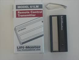 liftmaster garage door opener remoteLiftmaster Chamberlain 61LM Transmitter remote control for garage
