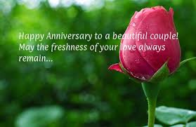 Happy Anniversary Quotes Best Anniversary Quotes Happy Anniversary To A Beautiful Couple May