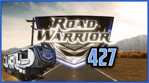 2018 heartland road warrior 427 fifth wheel toy hauler rv lakes rv center