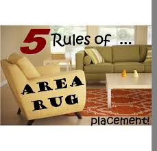 proper placement area rug in living room