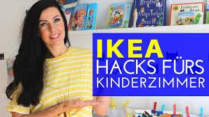 Vom ersten tag an verwandeln die richtigen möbel dein. Ikea Hacks Furs Kinderzimmer Pinterest Ideen Youtube
