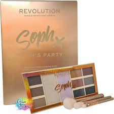 makeup revolution soph x sophs party