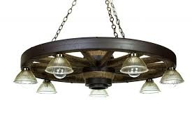 large wagon wheel chandelier with downlights cast horn designs marvelous parts to make mason jars used
