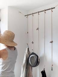DIY idea clothes racks- great for hats