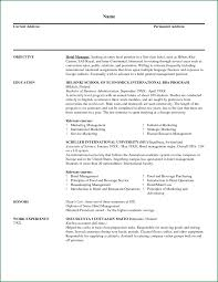 Great Resume For Concierge Hotel Ideas Entry Level Resume