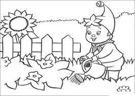 Small Picture Pictures Garden Coloring Pages 22 For Line Drawings with Garden