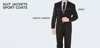 Blazer Sleeve Length Chart Size Chart Mens Clothing Size Chart Haggar