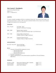 No Work Experience Resume Example Resume College Students No Experience For School Cover Letter