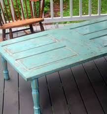 8 outdoor coffee table reuse of old doors