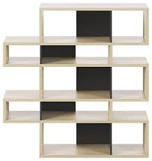 modern large modular display 2 tone
