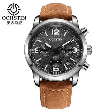 luxury brand watch men genuine leather strap ochstin luxury brand watch men genuine leather strap