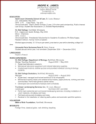 Study Abroad On Resume Standart Confortable Pattern Of For With