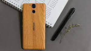 Mở hộp Ulefone Power: Mặt lưng gỗ độc đáo, pin 6.050 mAh